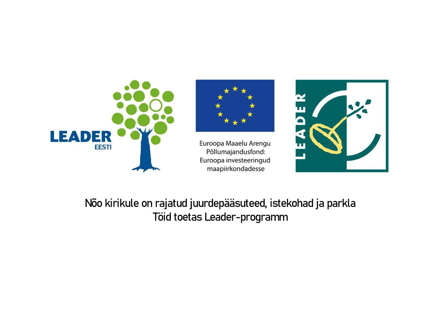 Leader-programmi logo. UUS!